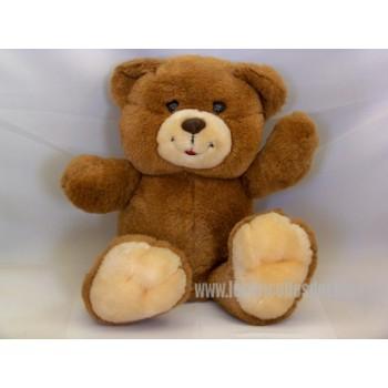 "Cute Teddy Bear Brown Laughing Padded 8 """