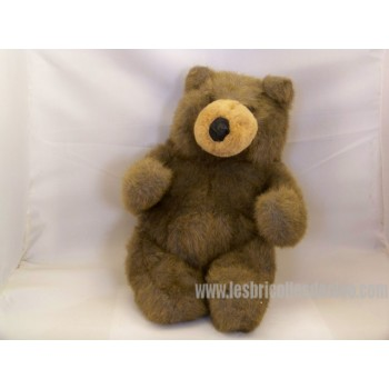 Teddy Bear Padded Animal Brown Teddybear 12""