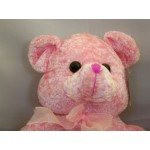 Ourson Animal Rembourré Nounours Rose 14""
