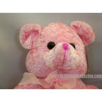 Teddy Bear Padded Animal Pink Teddybear 14