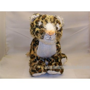 Tiger Plush Animal Padded Multi 9 Inch