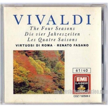 Vivaldi The 4 Seasons cd Disque Compact