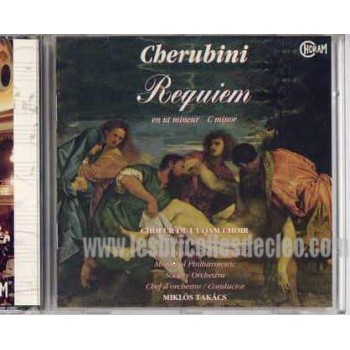 Cherubini CD Requiem en Ut mineur C mineur