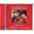CD Mozart Classical Concerto pour piano no 21