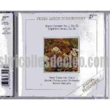 Peter Ilyich Tchaikovsky CD Piano DR