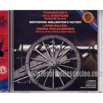 Tchaikovsky cd 1812 overture marche Slave Compact Disk