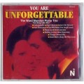You are Unforgettable CD Nat King Cole Hits