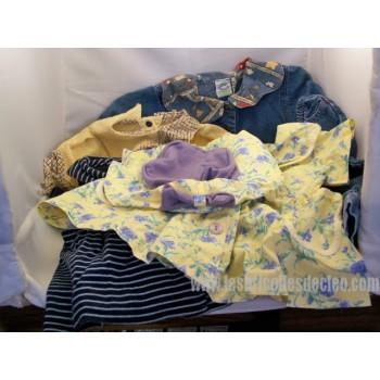 Lot 5 Clothes Girls 12 months Dress Jeans