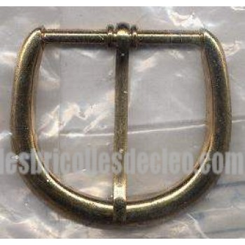 Belt Buckle Gold Finish Brass Medieval Costumes C-55421