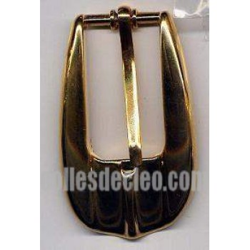 Belt Buckle Gold Finish Brass Medieval Costumes C-55758-2