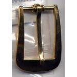Belt Buckle Gold Brass Medieval Costumes C-5924