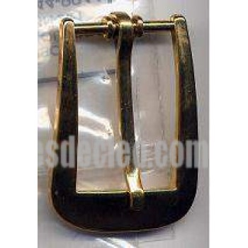 Belt Buckle Gold Brass Medieval Costumes C-5924